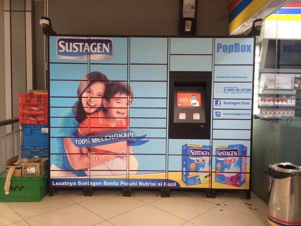 PopBox Stasiun Sudirman