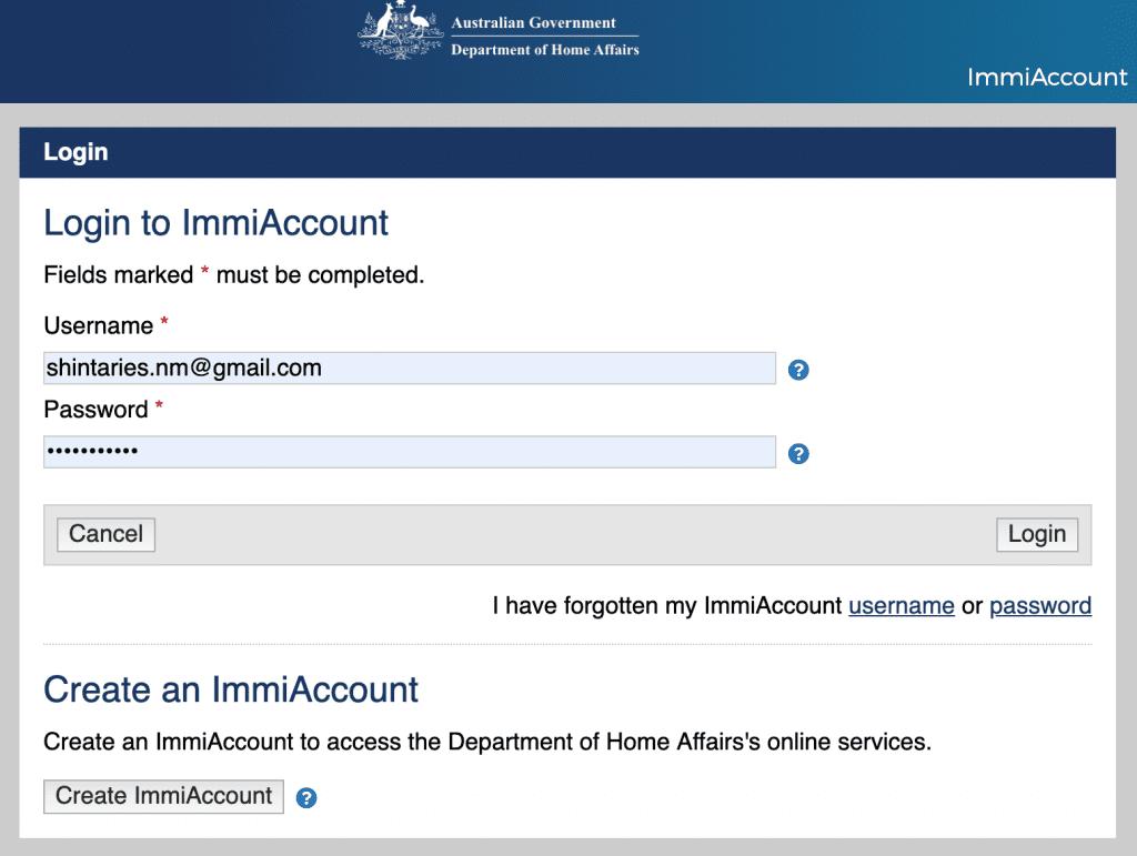 Cara mengisi visa australia online